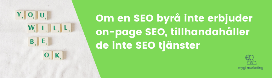 Quote på on-page SEO
